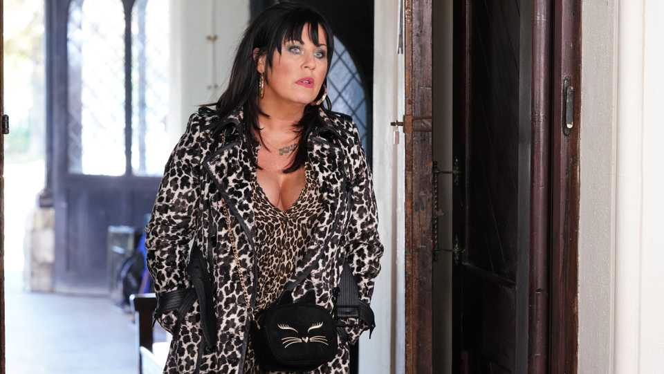 eastenders hayley slater baby 12 10 Things You Didn't Know About Jessie Wallace
