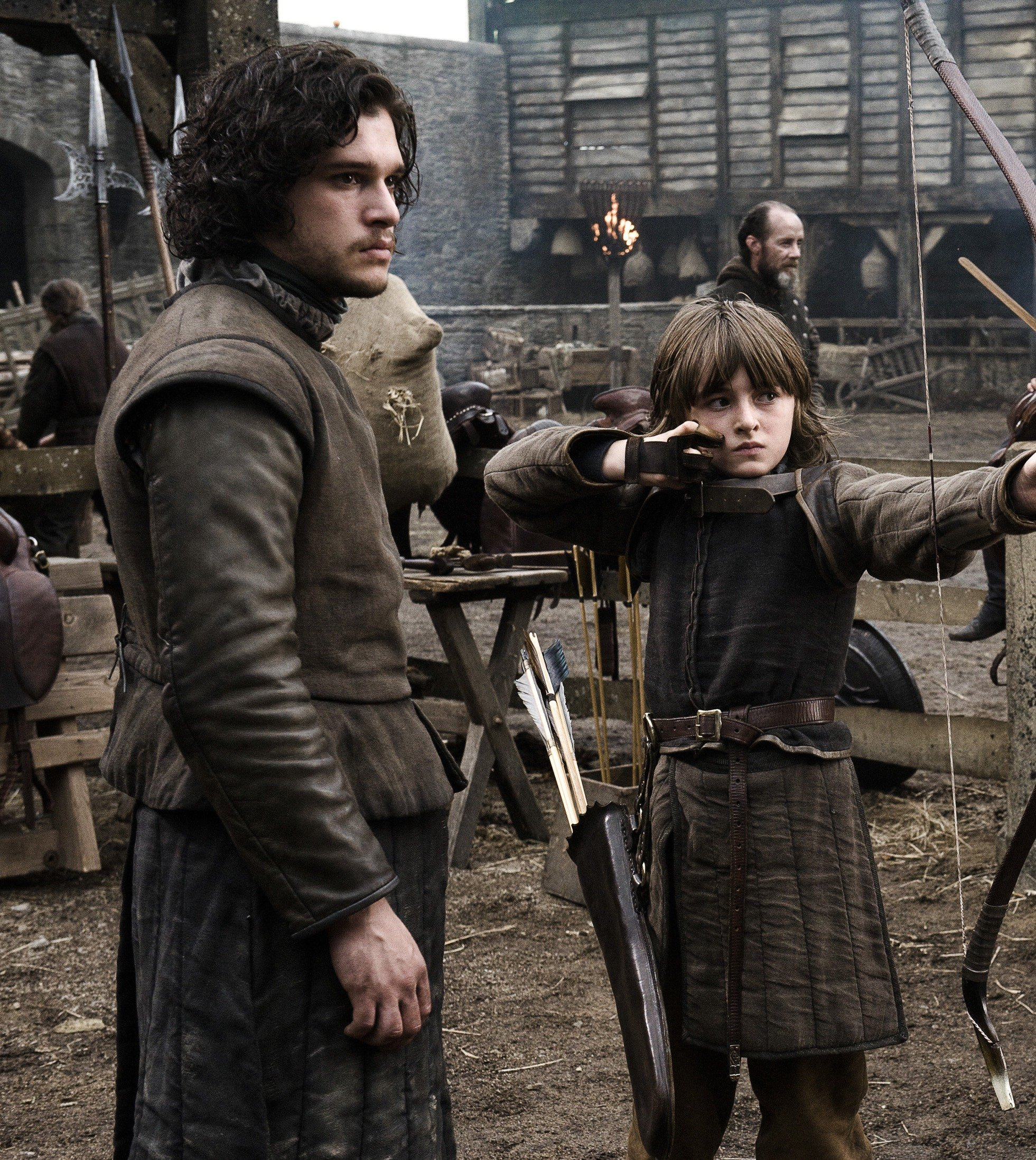 game of thrones pilot 20 Things You Didn't Know About Kit Harington