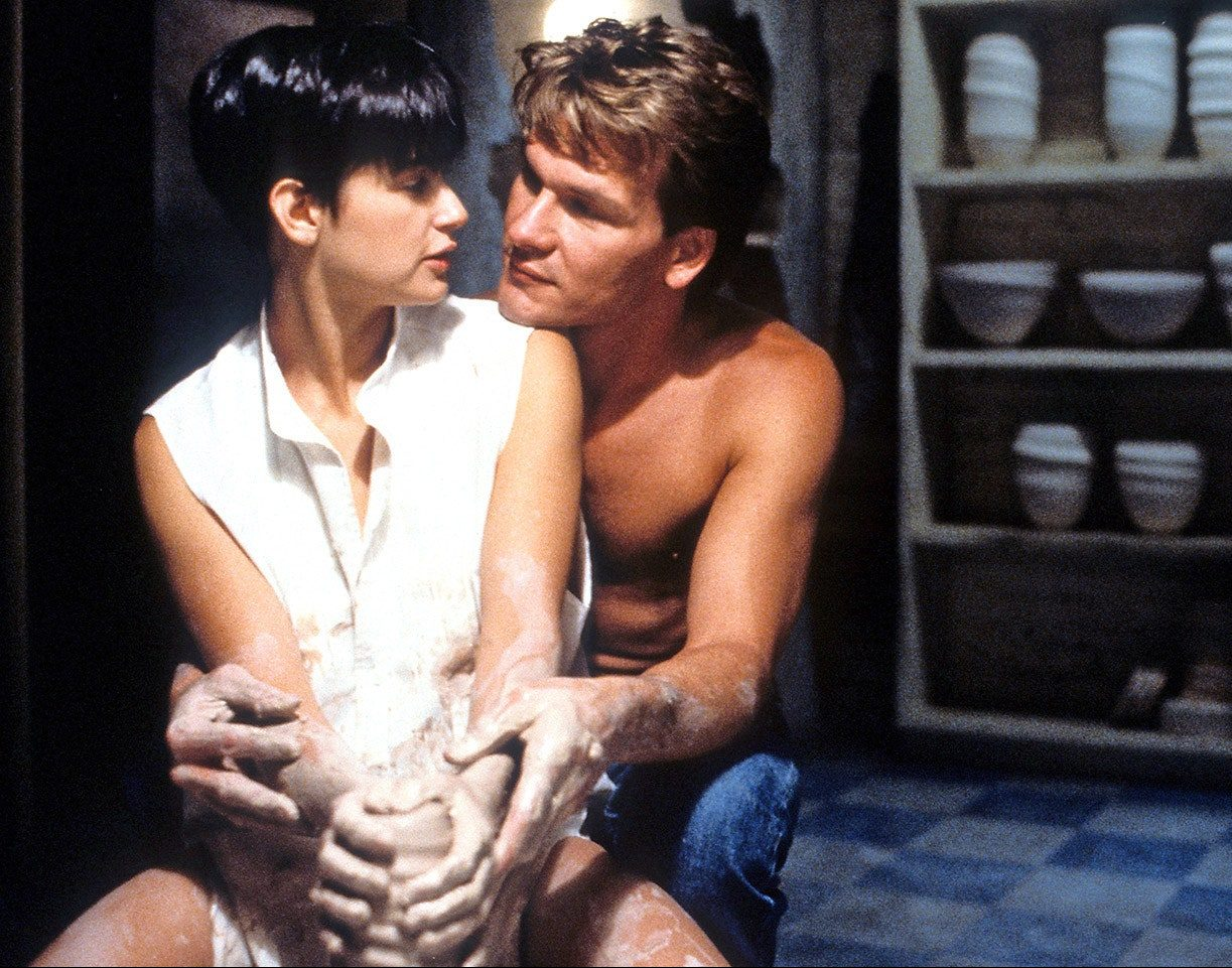 ghost patrick swayze pottery scene e1628159962916 20 Things You Might Not Have Realised About Ghost