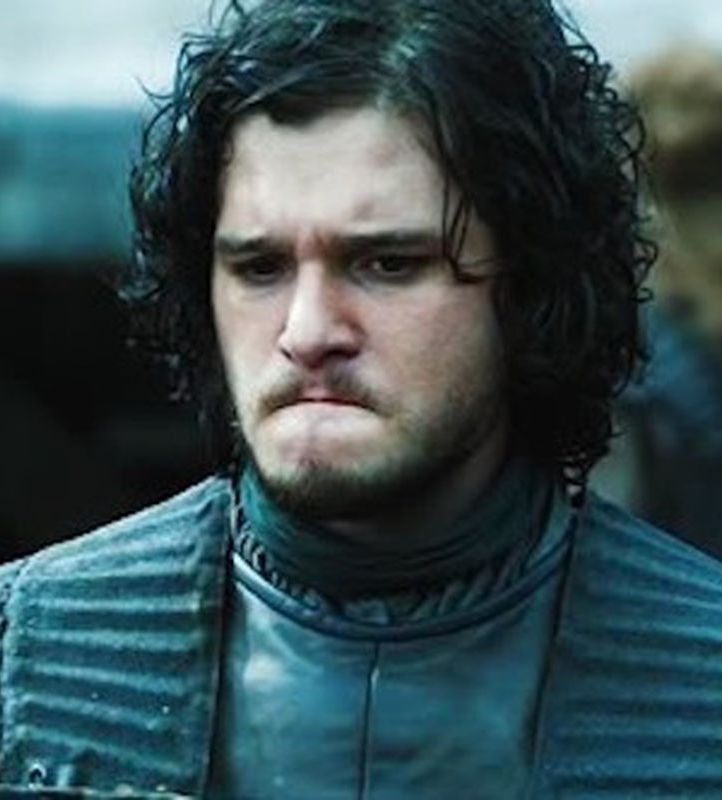kit harington sad jon snow game of thrones 0 0 20 Things You Didn't Know About Kit Harington
