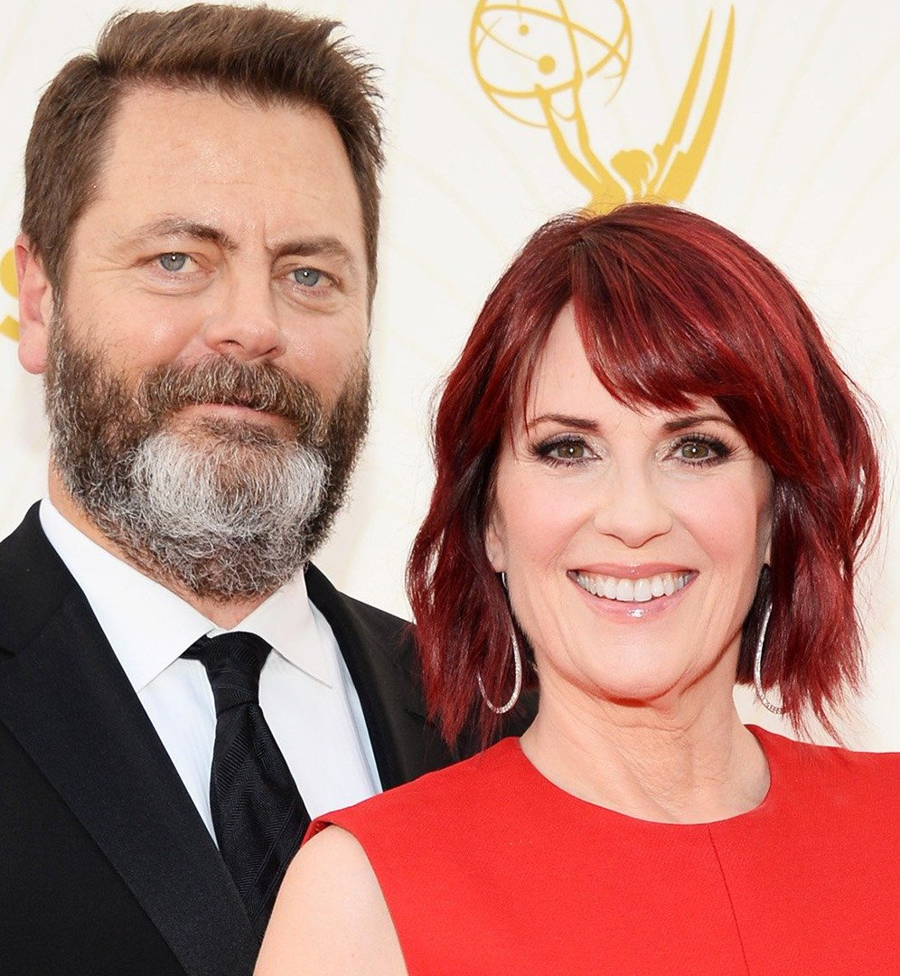 nick offerman megan mullally today tease 171018 4e0f6819873032774b9c321f0ce8d84a 25 Things You Didn't Know About Will & Grace