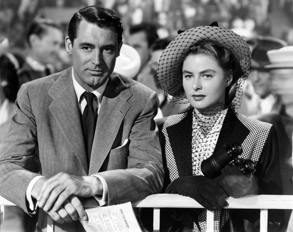 notorious 1946 006 cary grant ingrid bergman at races 00n kpp 10 Things You Probably Didn't Know About A Fish Called Wanda