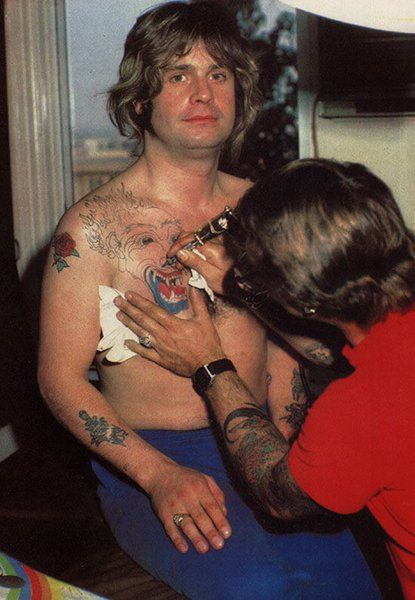 ozzy 80s tattoo 27 Things You Never Knew About Ozzy Osbourne
