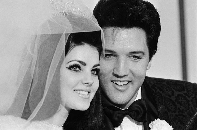 priscilla presley elvis presley wedding 1967 billboard 1548 10 Things You Didn't Know About Elvis Presley