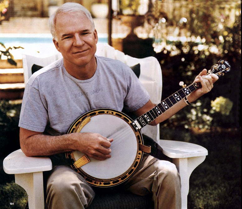 steve martin banjo 25 Things You Didn't Know About Steve Martin