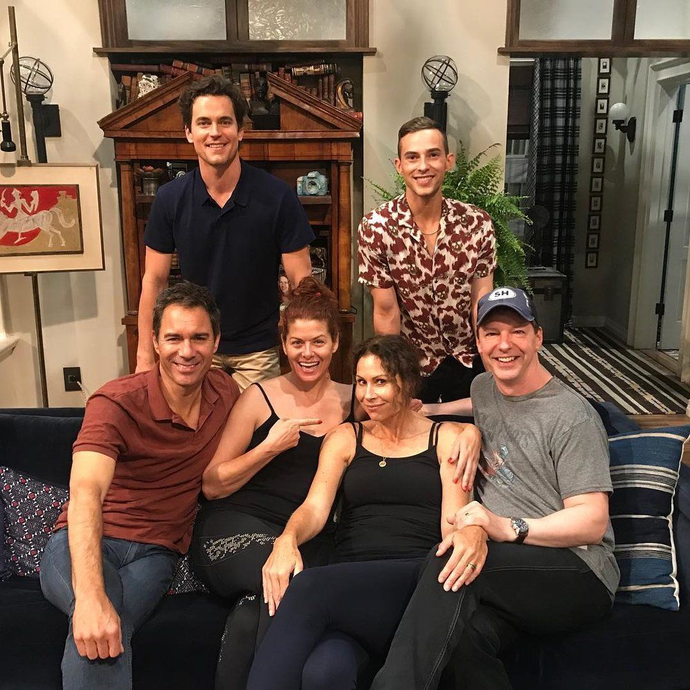 will and grace matt bomer adam rippon minnie driver debra messing sean hayes eric mccormack 2018 25 Things You Didn't Know About Will & Grace