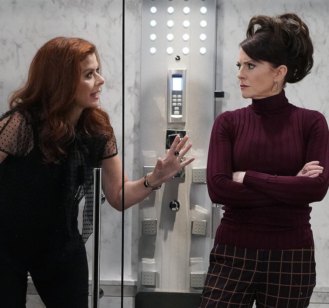 will and grace revival karen shower 25 Things You Didn't Know About Will & Grace