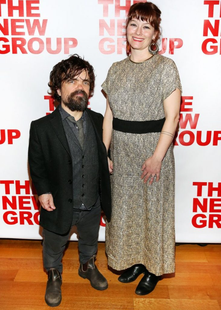 Husband and wife Peter Dinklage and Erica Schmidt