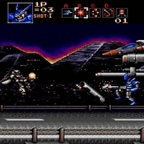6 Probotector 10 Classic Games We Can't Wait To Play On Sega's Mega Drive Mini!