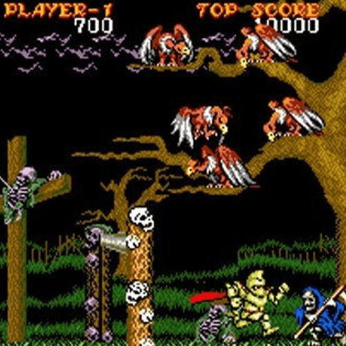 7 Ghouls and Ghosts 10 Classic Games We Can't Wait To Play On Sega's Mega Drive Mini!