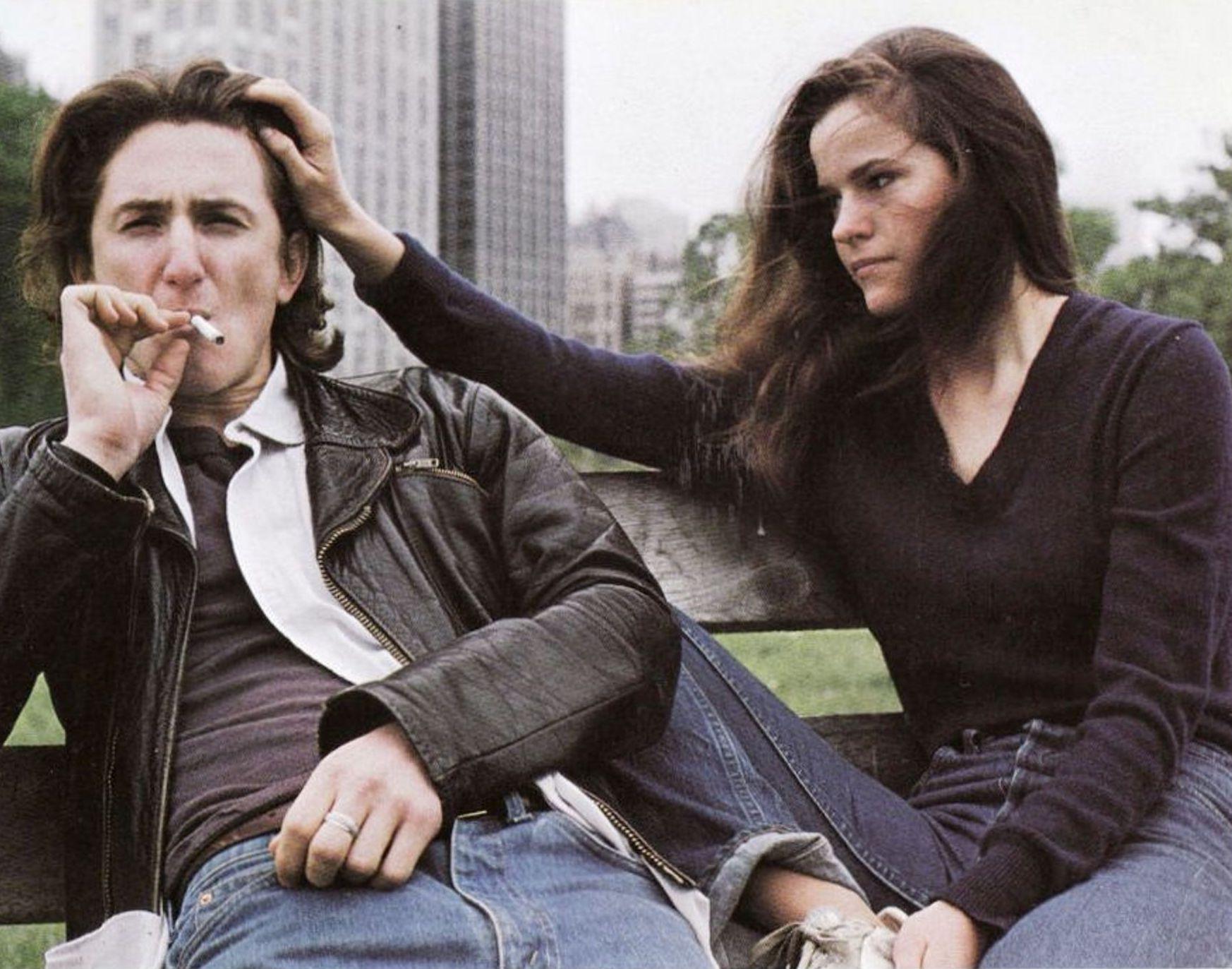 Sean Penn smoking Ally Sheedy Bad Boys (1983)