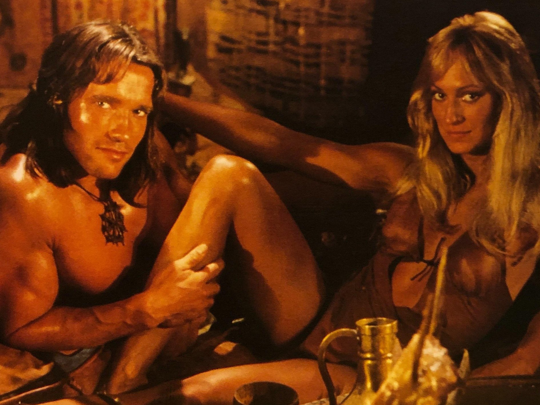 Conan the Barbarian Arnold Schwarzenegger Sandahl Bergman Crush Your Enemies With These 10 Facts About Conan The Barbarian