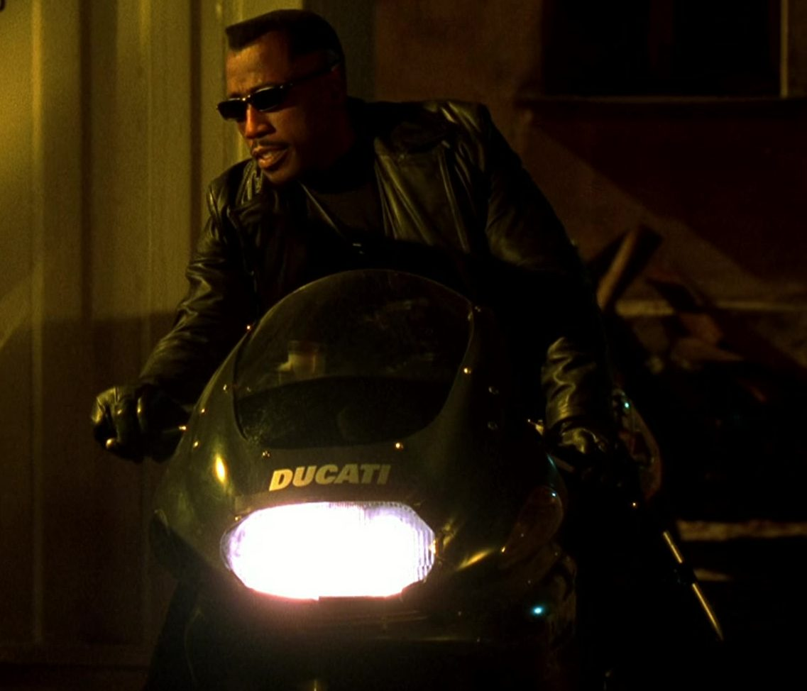 Ducati Black Motorcycle Used by Wesley Snipes in Blade 2 e1616510404905 19 Things You Might Not Have Realised About Wesley Snipes