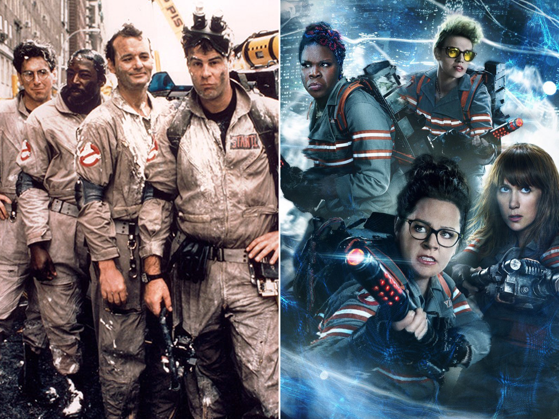 Ghostbusters Awful Remakes Of Classic 80s Films That Should Have Been Left Unmade