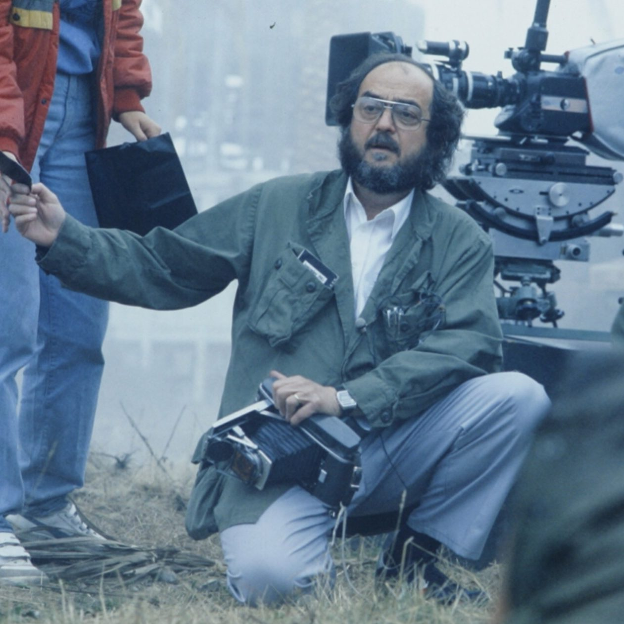 Kubrick on the set of Full Metal Jacket e1573049924222 30 Things You Never Knew About Vietnam Movie Classic Full Metal Jacket