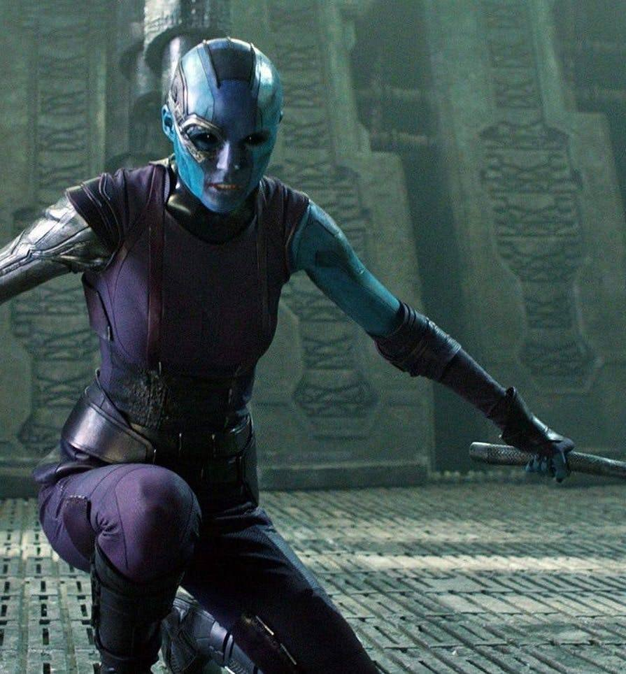 Nebula in Guardians of the Galaxy e1535710776859 20 Avengers: Endgame Easter Eggs You Definitely Missed