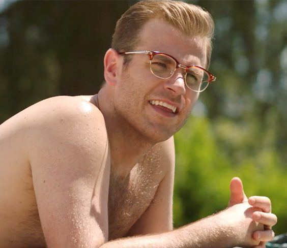 Scott Evans Into The Dark e1625664980109 20 Things You Didn't Know About Chris Evans