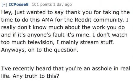 Screen Shot 2019 05 22 at 12.00.57 James Corden Holds Reddit AMA, Gets Brutally Roasted