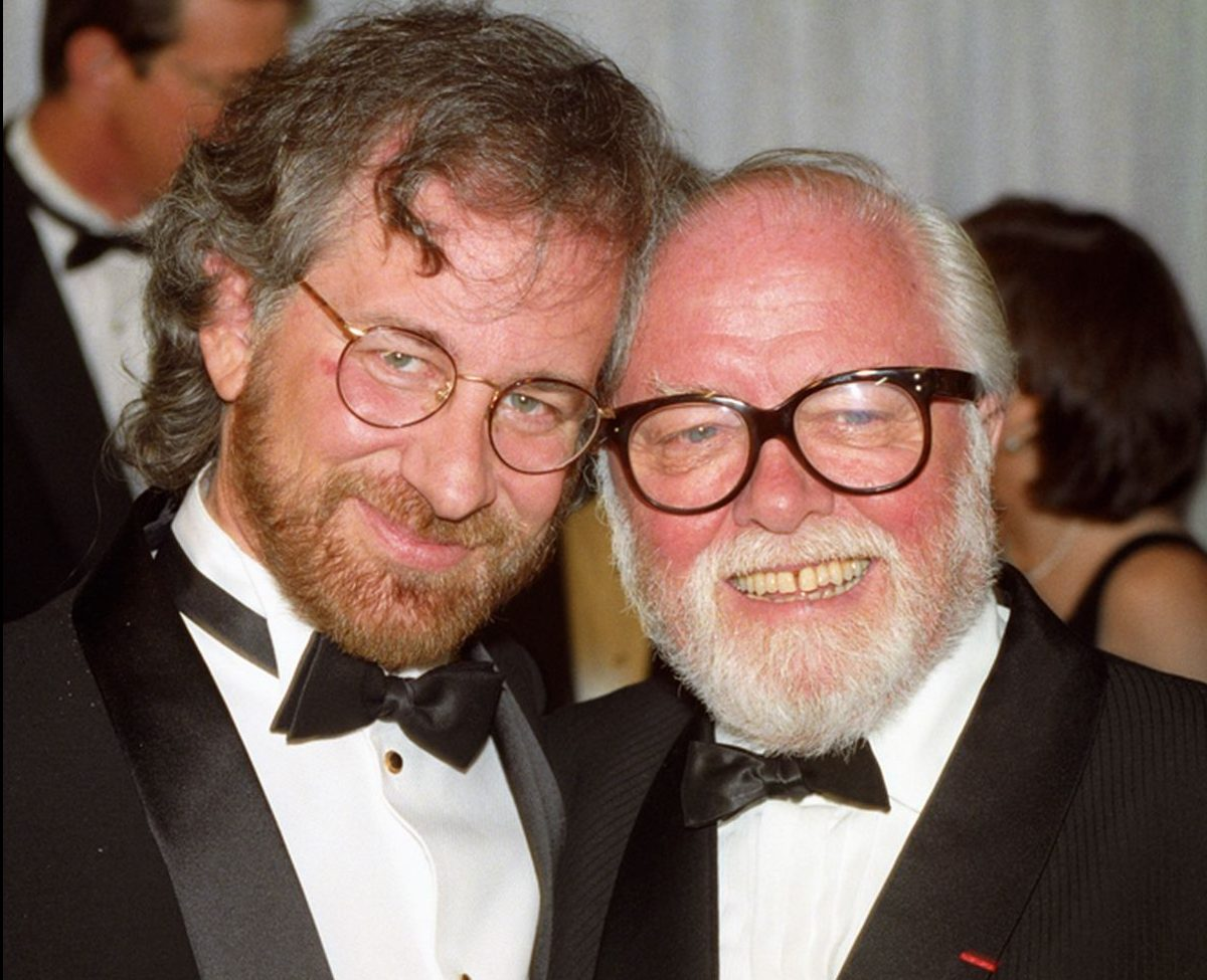 Steven Spielberg left with Richard Attenborough at the premiere of Jurassic Park e1608653404821 20 Things You Never Knew About E.T. The Extra-Terrestrial