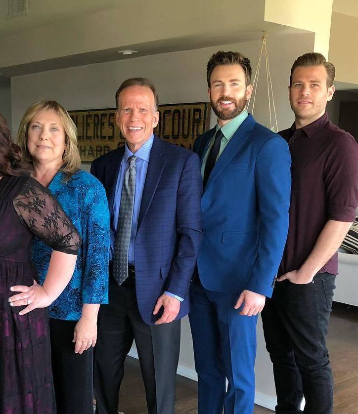 The Evans family are Ready for the Avengers Endgame premiere chris evans 42752395 1080 838 20 Facts You Never Knew About The Cast Of The Marvel Cinematic Universe