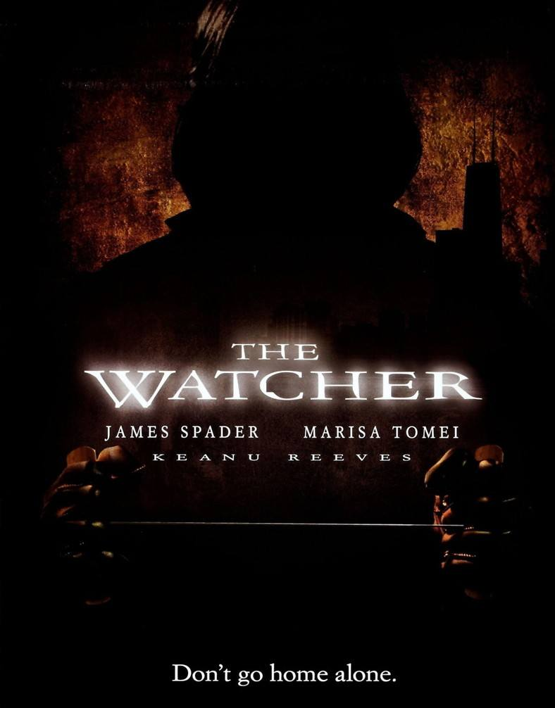 The Watcher movie poster 25 Keanu Facts Only True Fans Know
