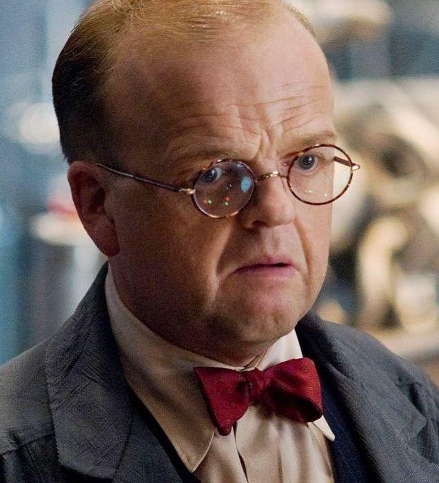 Toby Jones as Arnim Zola in Captain America The First Avenger 20 Avengers: Endgame Easter Eggs You Definitely Missed