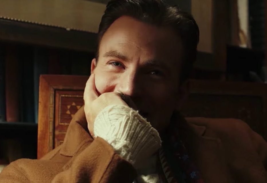 chris evans in knives out e1625669398609 20 Things You Didn't Know About Chris Evans