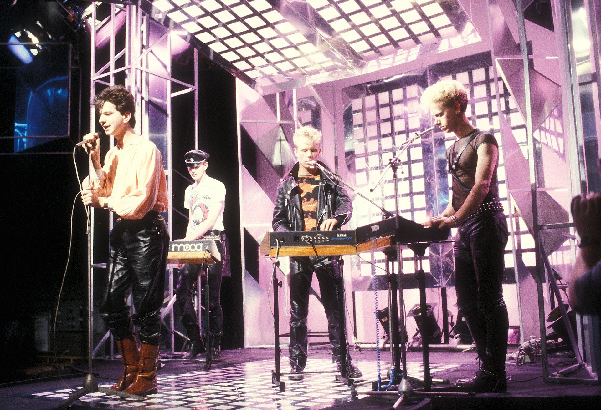 depeche The Best Of 1980s Music In Pictures: Part Two