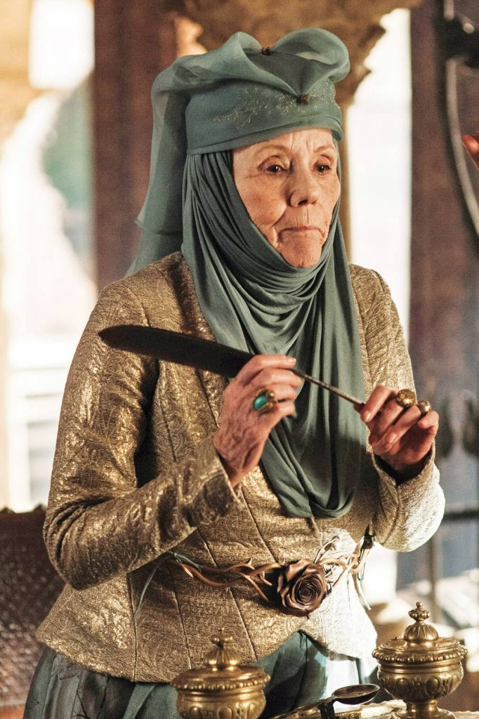 diana rigg gameofthrones13 07 WEB t1000 The 18 Biggest Changes In Game Of Thrones From Book To Screen