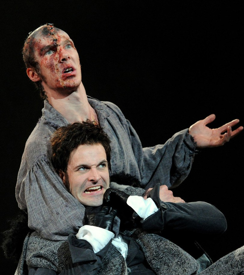 frankenstein benedict cumberbatch jonny lee miller image 20 Things You Probably Never Knew About Benedict Cumberbatch