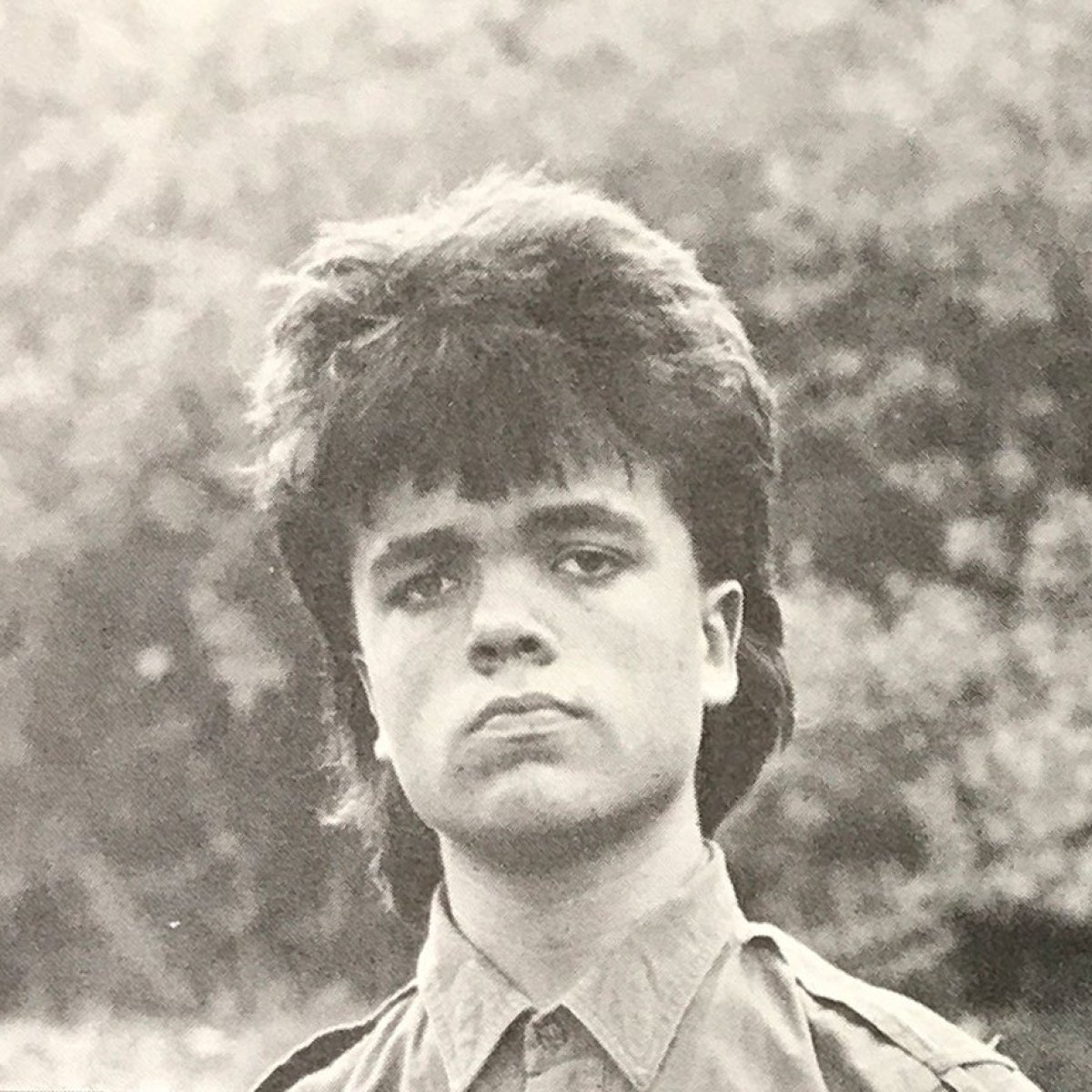 game of thrones peter dinklage mullet high school yearbook photos 04 10 Things You Didn't Know About Peter Dinklage