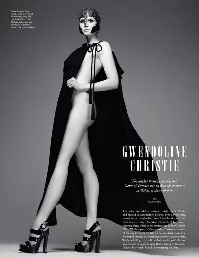 gwen 34 20 Things You Didn't Know About Gwendoline Christie