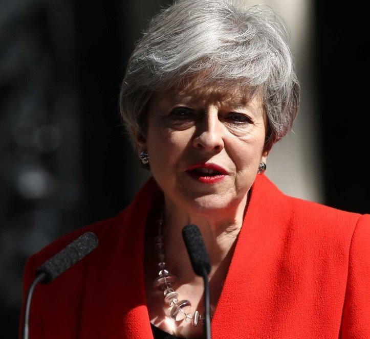 https cdn.cnn .com cnnnext dam assets 190524101451 03 theresa may 0524 restricted Kathy Burke Suggests Linda La Hughes As New Prime Minister