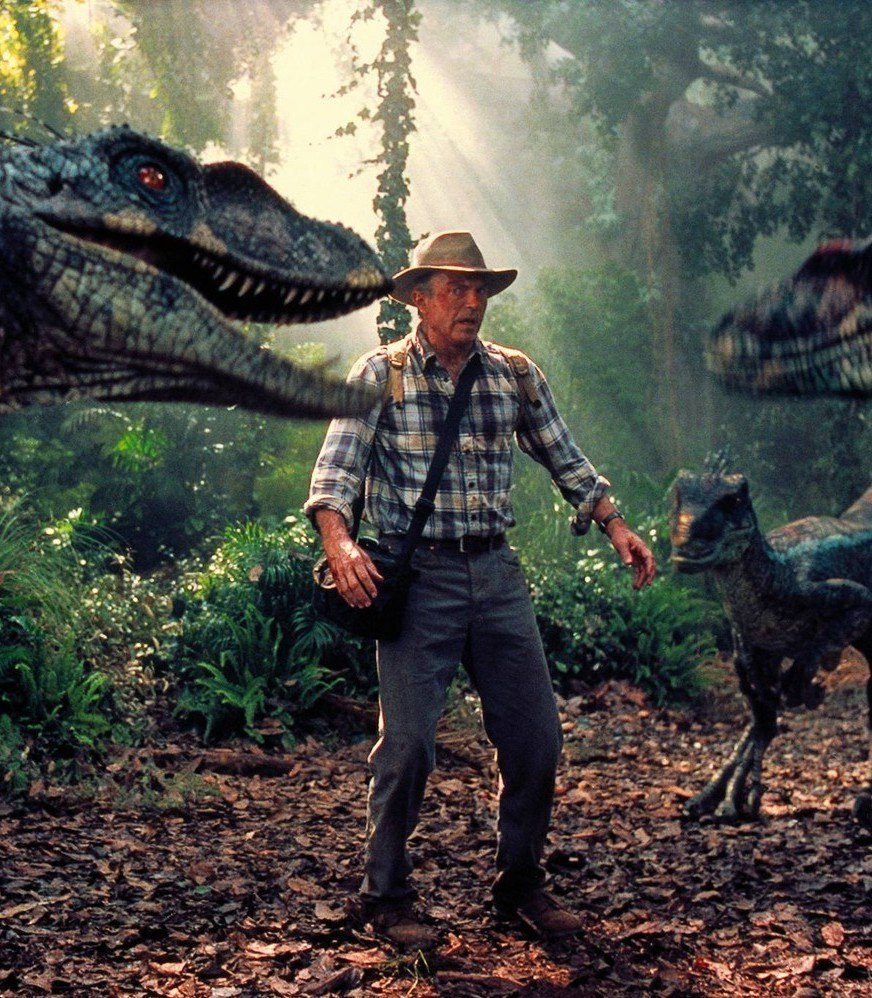 jurassic park 3 sam neill raptors 25 Things You Probably Missed In Jurassic Park