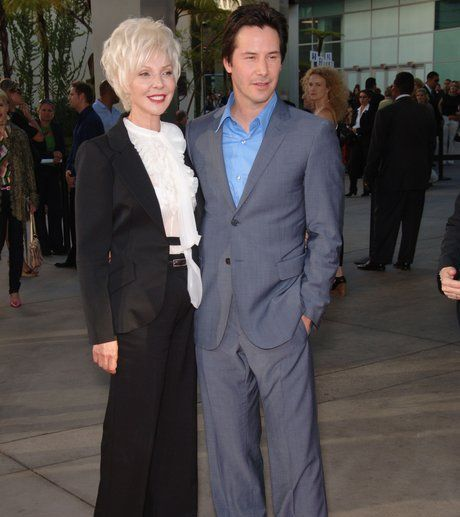 keanu reeves and mother 1331656696 view 1 25 Keanu Facts Only True Fans Know