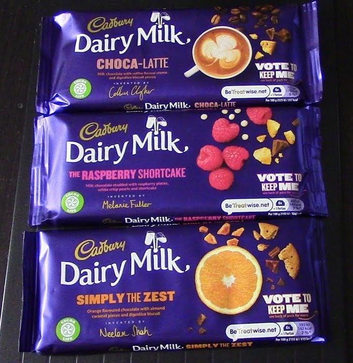 maxresdefault 1 1 Cadbury Launches Three New Special Edition Dairy Milk Bars