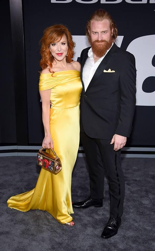 Kristofer Hivju and Gry Molvaer Hiviju Fate of the Furious premiere