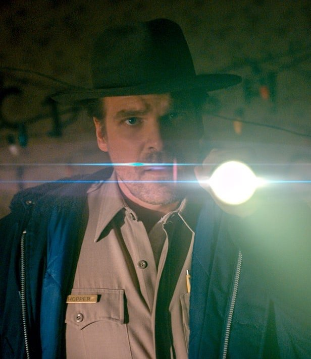 160808 wilstein david harbour tease2 slncl1 20 Things You Didn't Know About Stranger Things