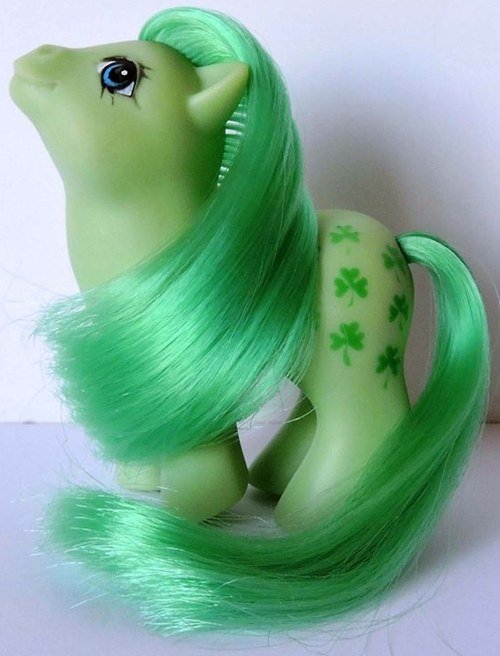 Under the Hasbro brand, the price of colorful Baby Minty ponies has skyrocketed over the decades.