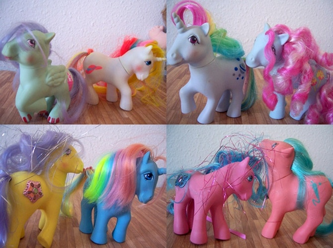 Fans search the market for original My Little Ponies produced in the 80s, which have become collectors' items across the world.
