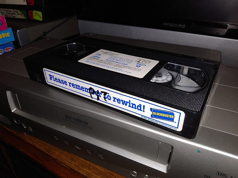 800px Blockbuster VHS Tape Things That Kids Today Just Can't Understand