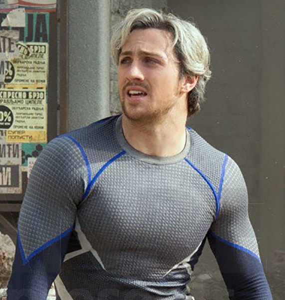 Aaron Taylor Johnson as Quicksilver in Avengers Age of Ultron 24 Things You Didn't Know About The X-Men Films