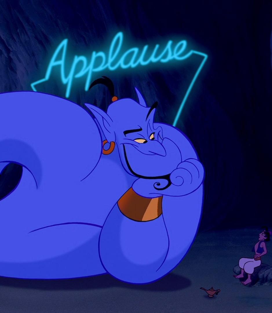 Aladdin Genie Applause 29 Naughty Hidden Secrets In Disney Films