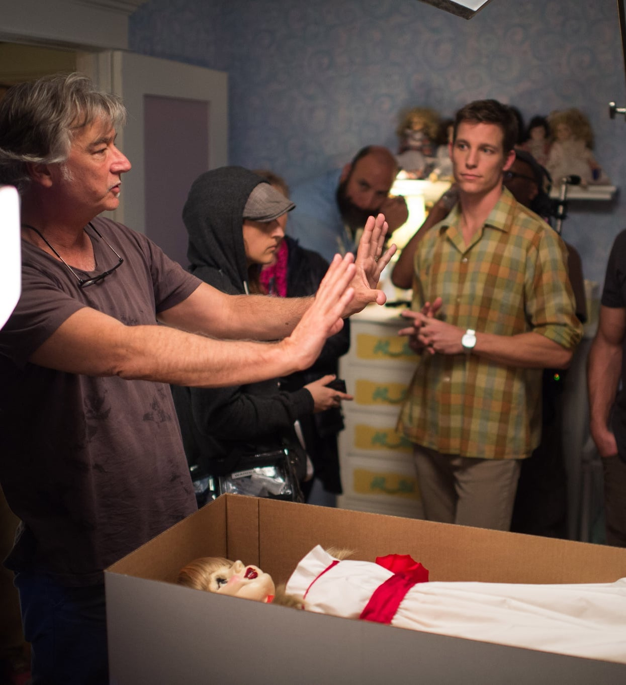 Annabelle Unexplainable Things That Happened On Movie Sets