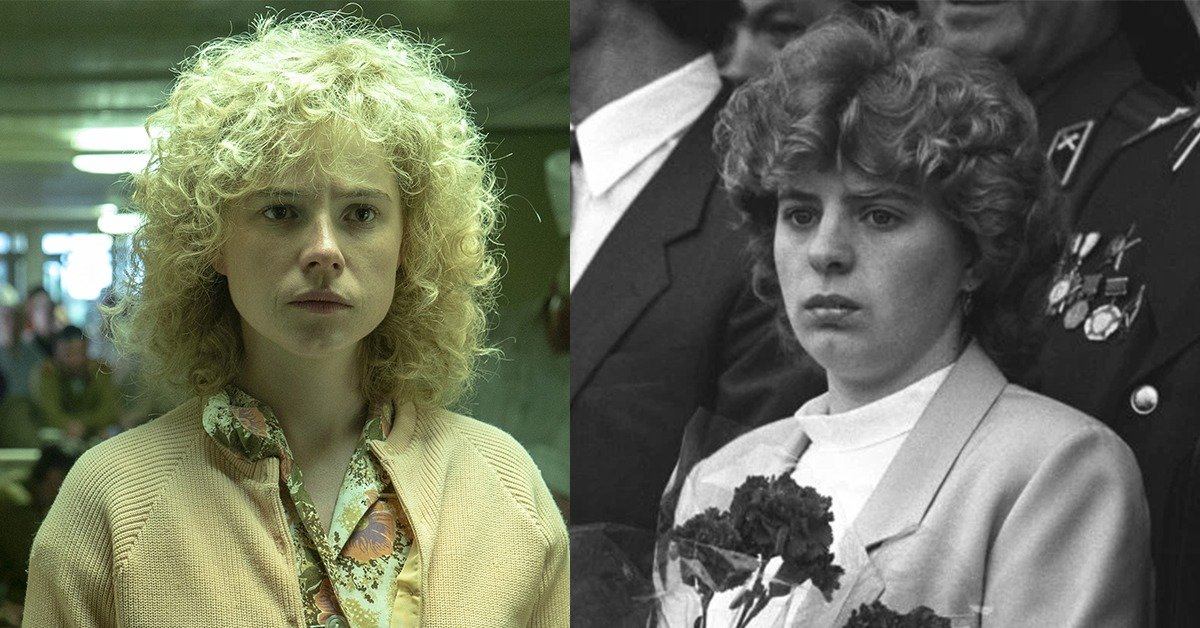ChernoBuckley Here's What The Chernobyl Cast Look Like Compared To Their Real-Life Counterparts