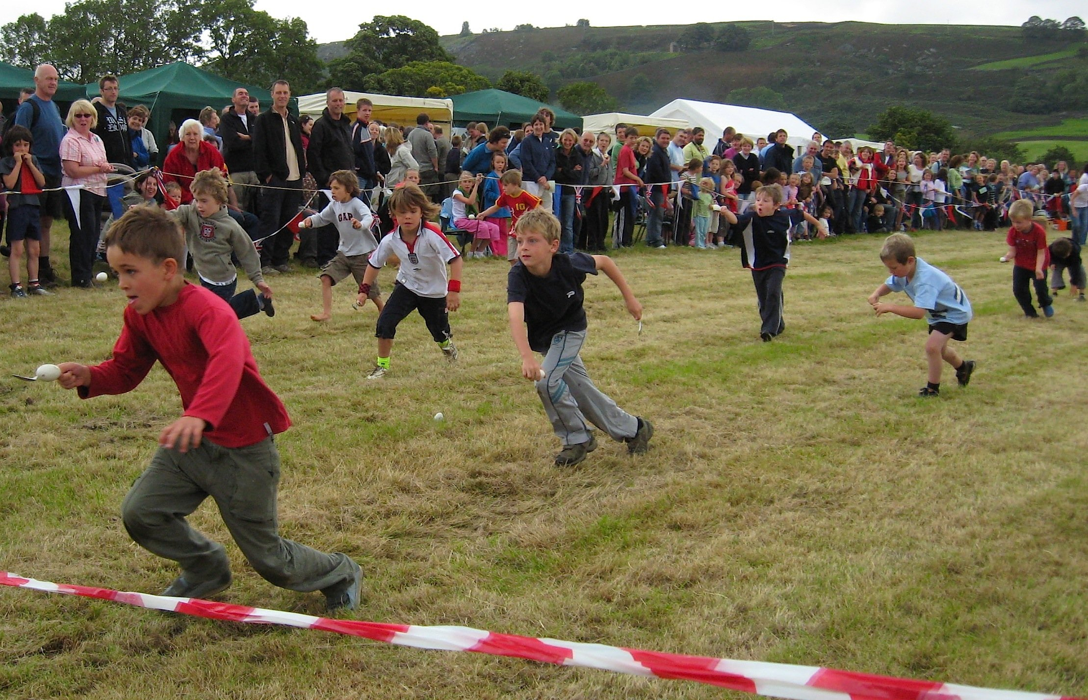 Egg spoon finish line How Many Of These School Sports Day Events Did You Take Part In Growing Up?