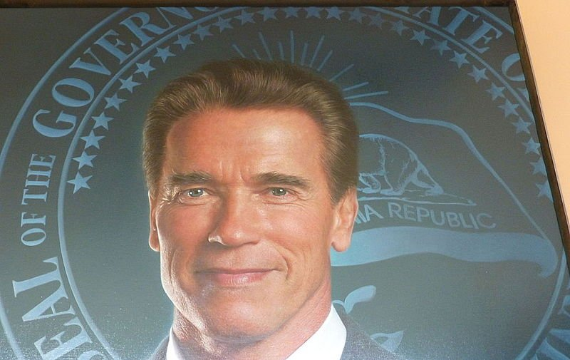 Governor Arnold Schwarzeneggers Official Portrait Governors Seal Detail Gottfried Helnwein 20 Things You Might Not Have Realised About Demolition Man