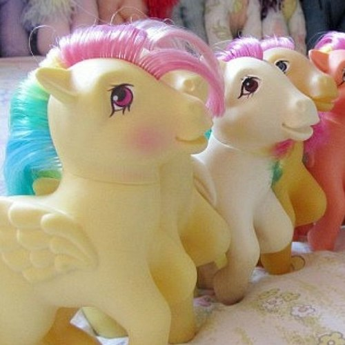 You can sell 80s My Little Ponies to collectors for hundreds of dollars today.