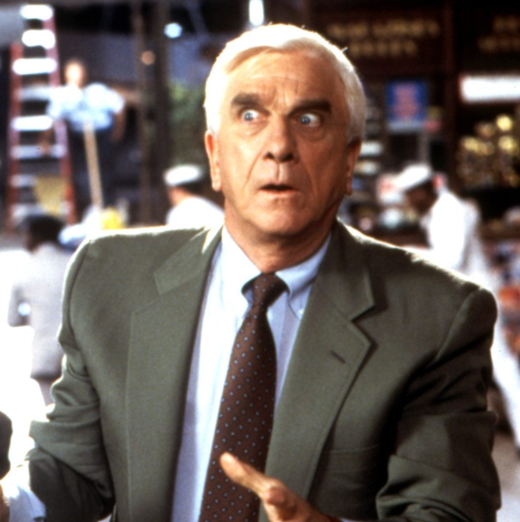 Leslie Nielsen Naked Gun trilogy e1599226278447 20 Things You Might Not Have Realised About The Naked Gun