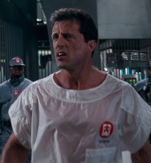 SLY STALLONE LITTLE AMERICA SCIENCE FICTION ACTION THRILLER DEMOLITION MAN JUDGE DREDD 20 Things You Might Not Have Realised About Demolition Man